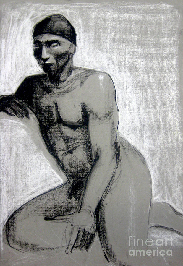 African Drawing - Meditations by Gabrielle Wilson-Sealy