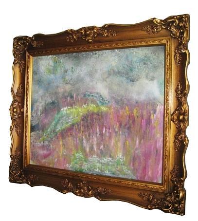 Medow Muze Painting by Frank  Polera