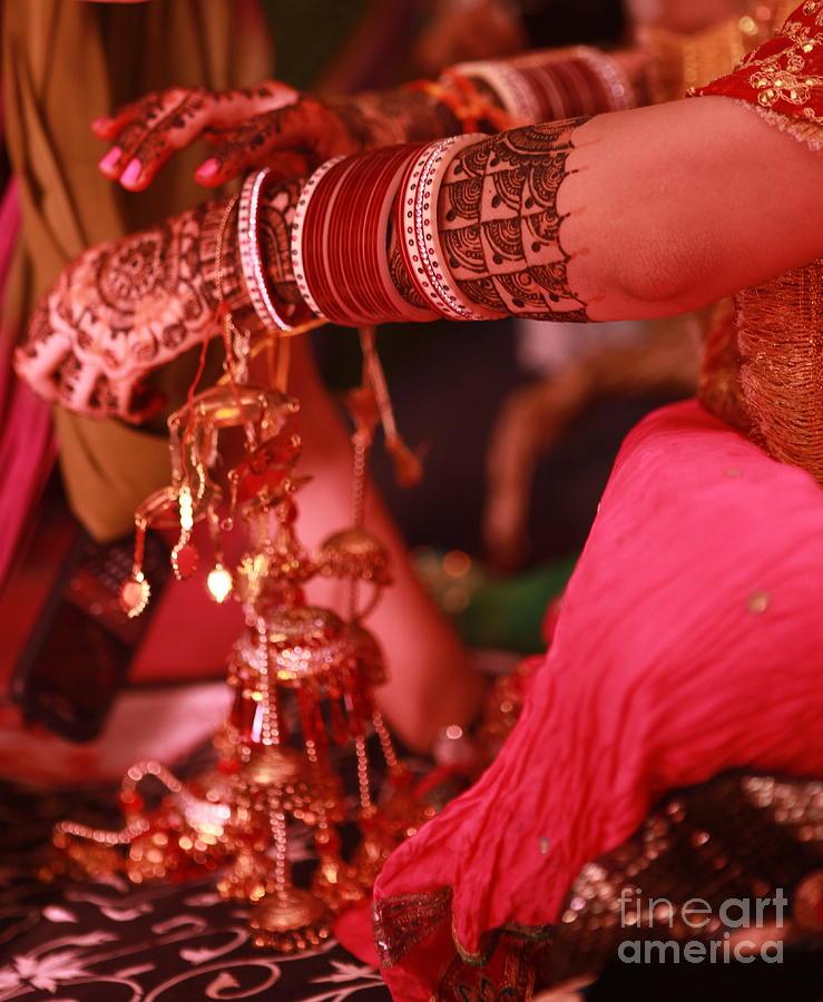Mehndi Photograph - Mehndi by Arvi Grover