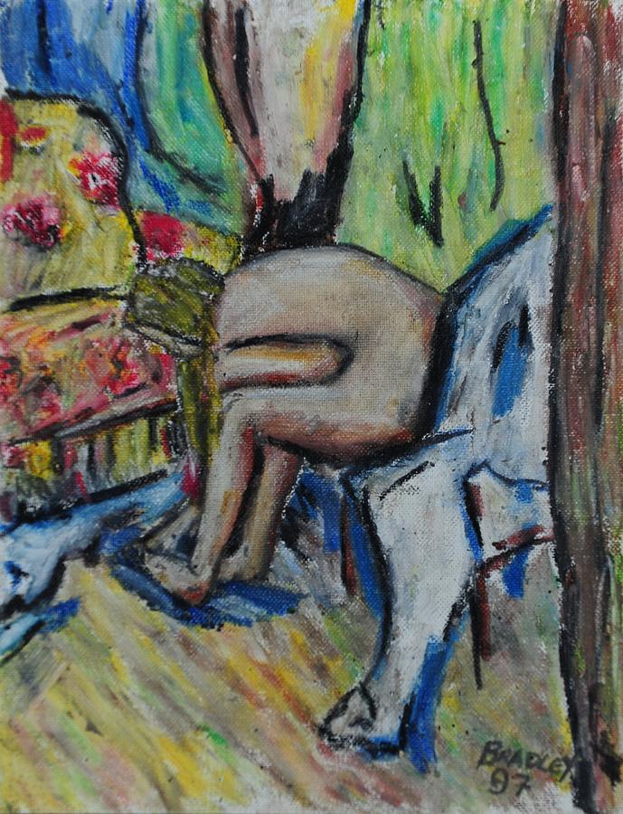 Costa Rica Painting - Mellisa 97 by Bradley Bishko