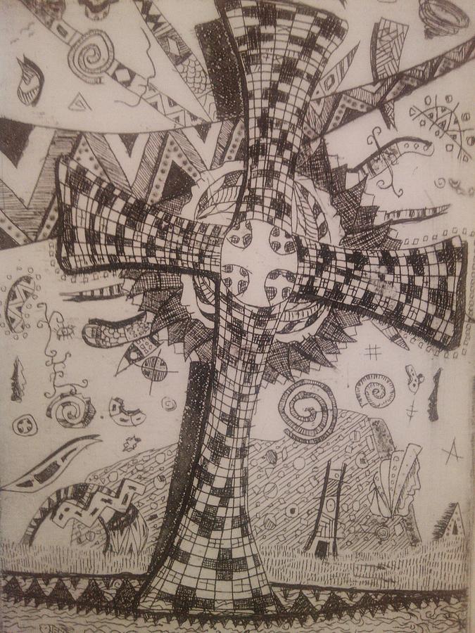 Drawing - Memories Of The Homeland by Branko Jovanovic