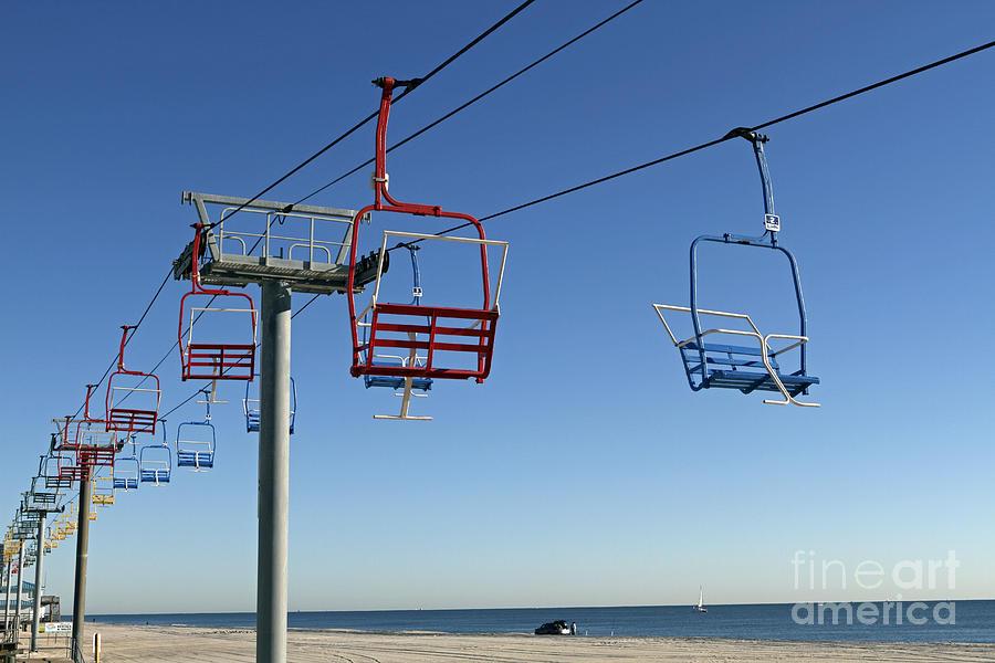 Seaside Heights Photograph - Memories Of The Jersey Shore by John Van Decker