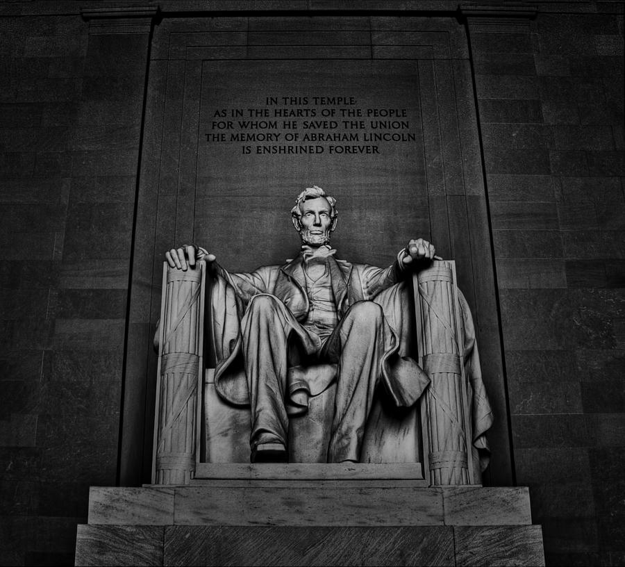 Lincoln Photograph - Memory Of Abe by Dmitriy Mirochnik