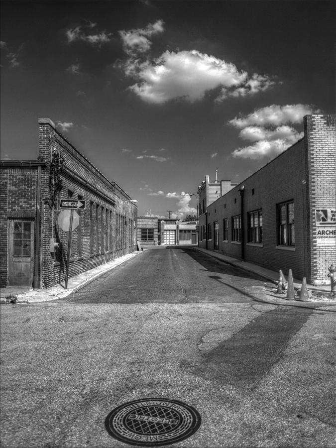 Memphis Photograph - Memphis Alley Two by Joshua House