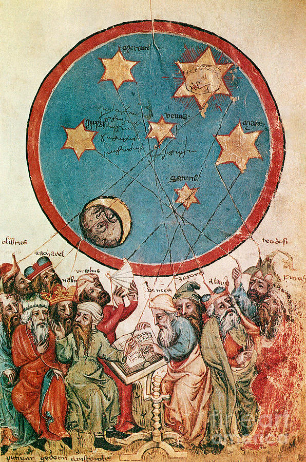 Manuscript Photograph - Men & Their Guiding Stars by Science Source