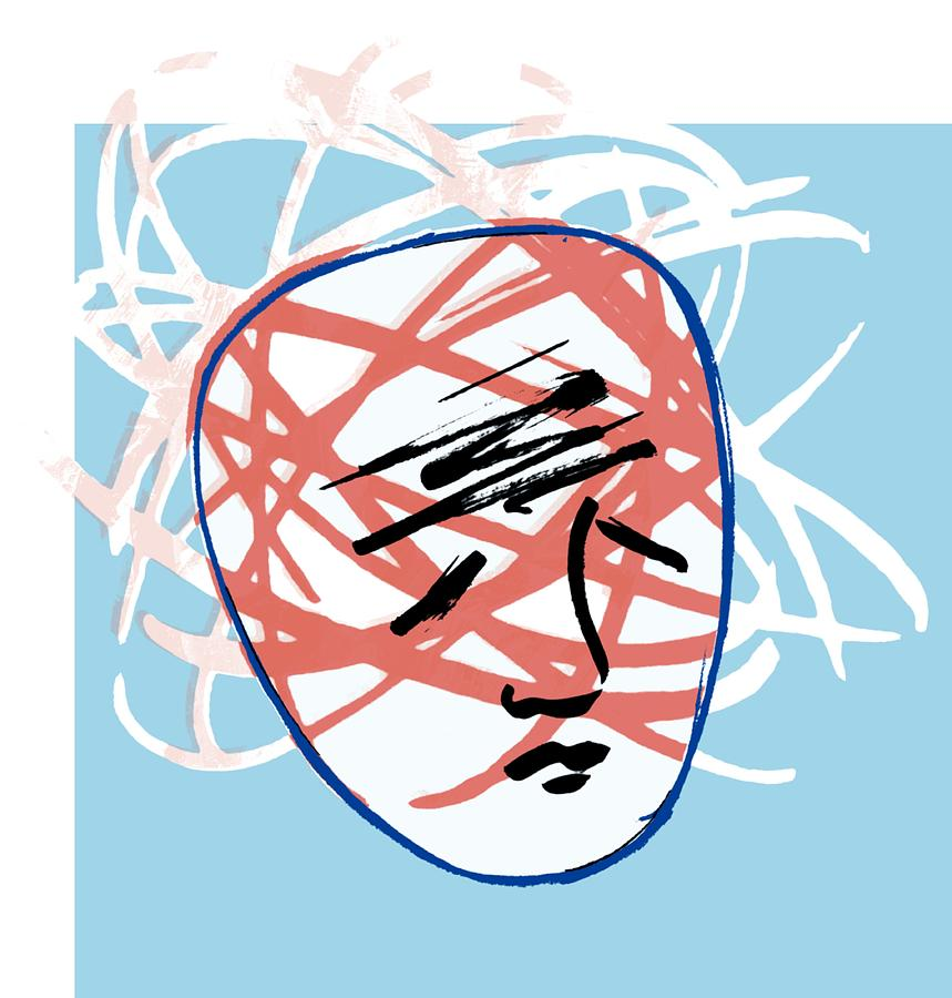 Mental Breakdown Photograph - Mental Breakdown, Conceptual Artwork by Paul Brown