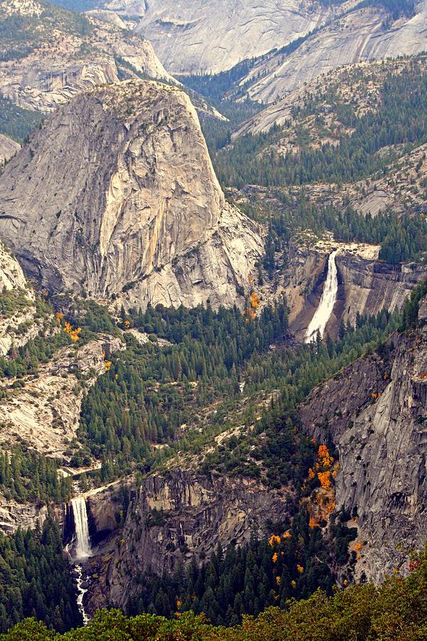 Waterfalls Photograph - Merced River Canyon by Lynn Bawden