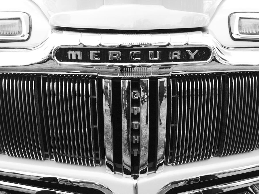 Classic Mercury Grill Photograph - Mercury Grill  by Kym Backland