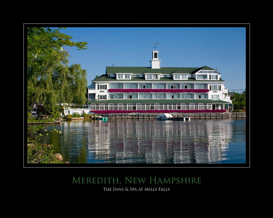 New Hampshire Photograph - Meredith Inn by Jim McDonald Photography