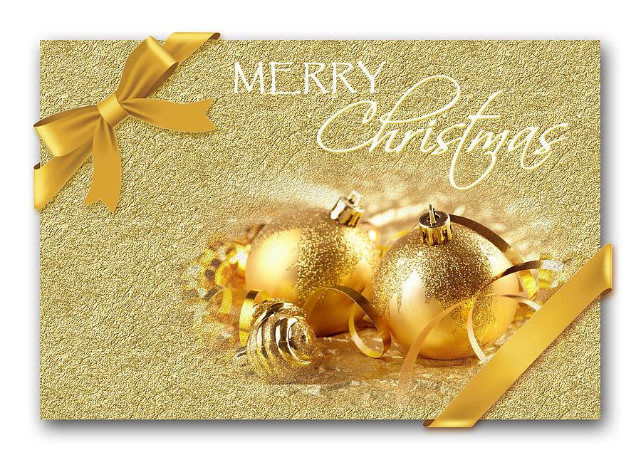 Merry Christmas Card Photograph by Blair Wainman
