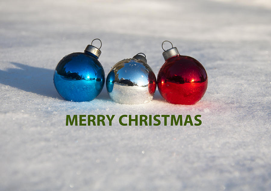 Merry Christmas Photograph - Merry Christmas by Glenn Gordon