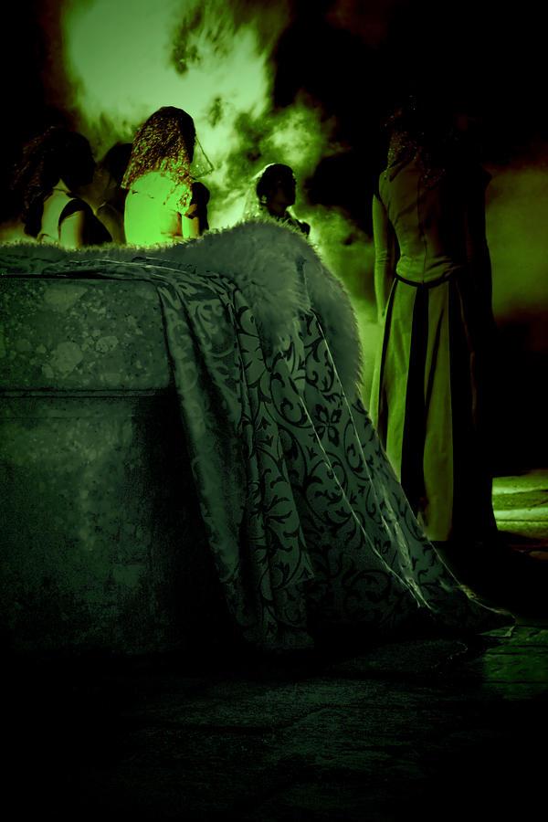 Witch Photograph - Merry Meet Green by Jasna Buncic