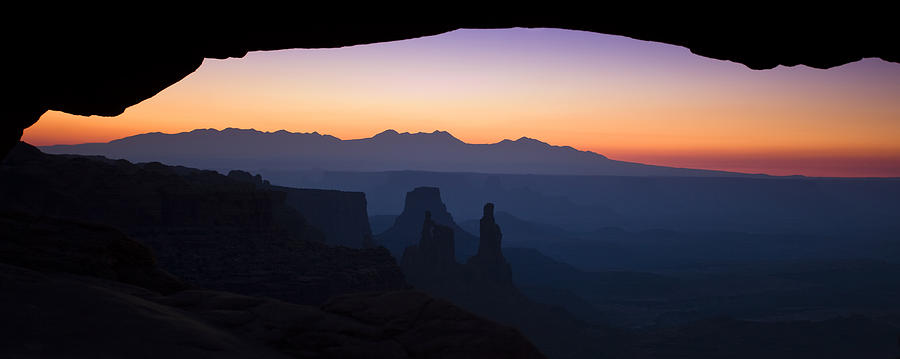 Mesa Arch Photograph - Mesa Dawn by Andrew Soundarajan