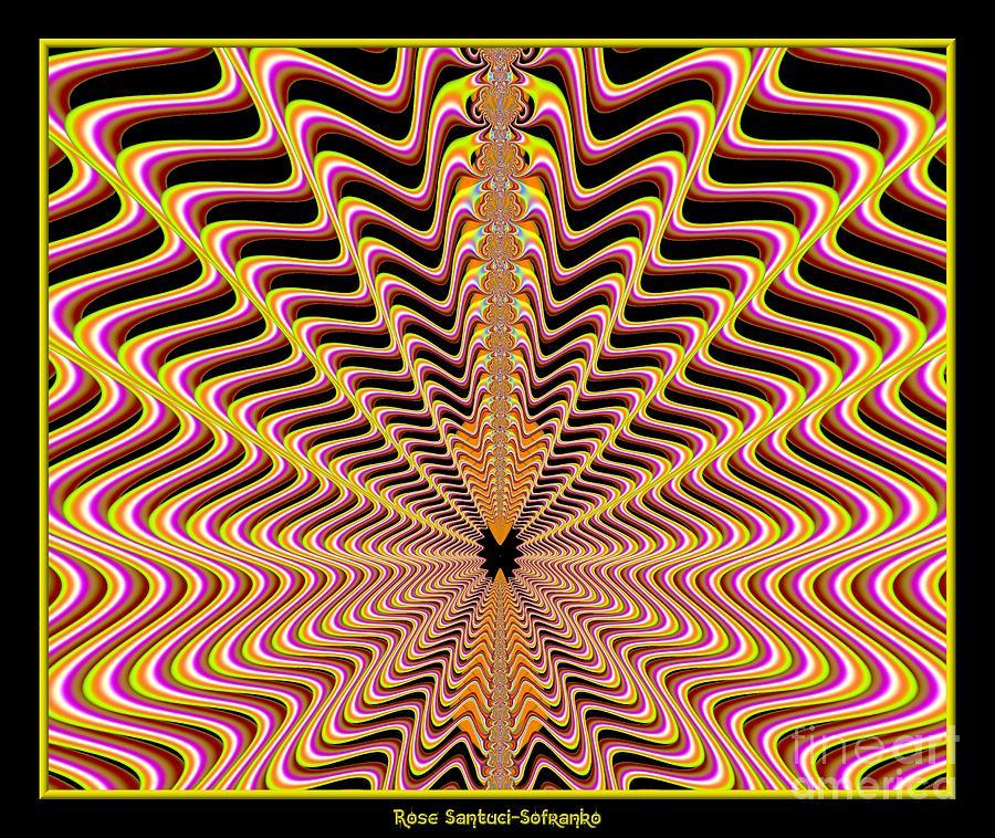 Mesmerizing Web Fractal 100 Digital Art by Rose Santuci ...
