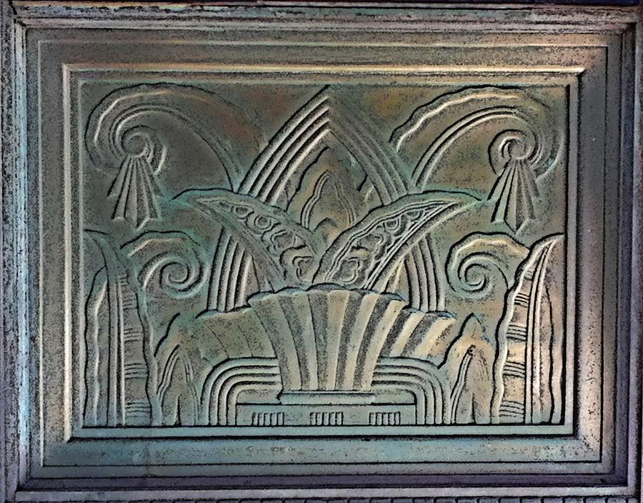 Art Deco Relief Digital Art by Geoff Strehlow
