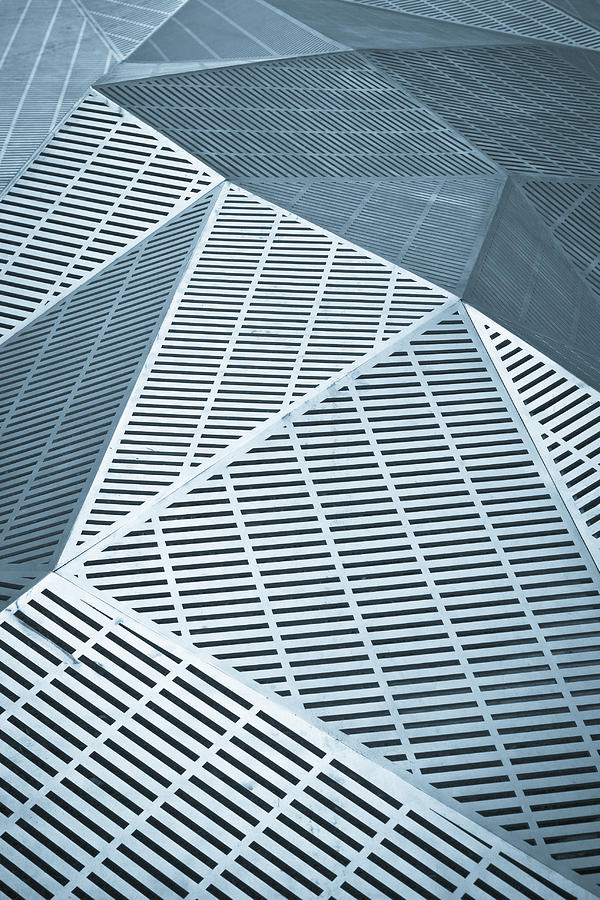 3-d Photograph - Metallic Frames by Tom Gowanlock