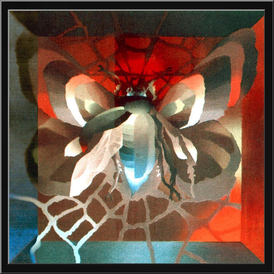 Transformation Painting - Metamorphosis 1975 by Glenn Bautista