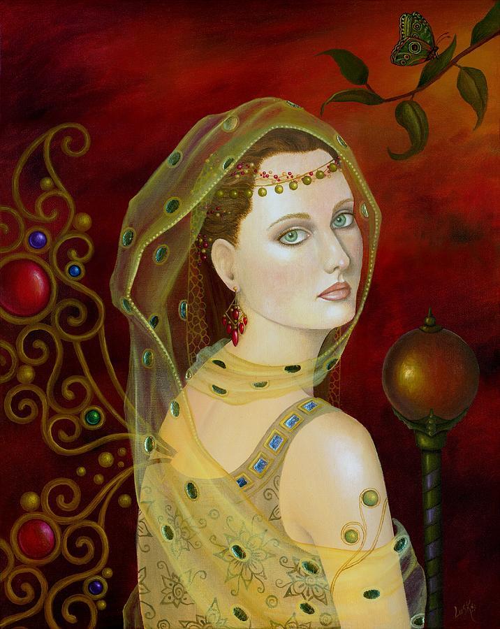Fairy Painting - Metamorphosis by B K Lusk