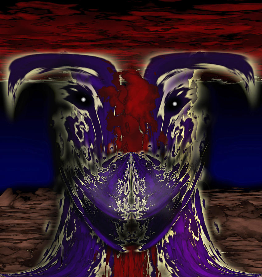 Dragon Painting - Metamorphosis by Christopher Gaston