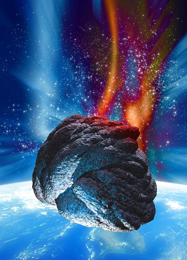 comet or asteroid approaching earth - photo #23
