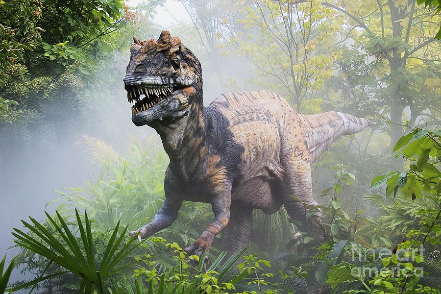 Dinosaur Photograph - Metriacanthosaurus by David Davis and Photo Researchers