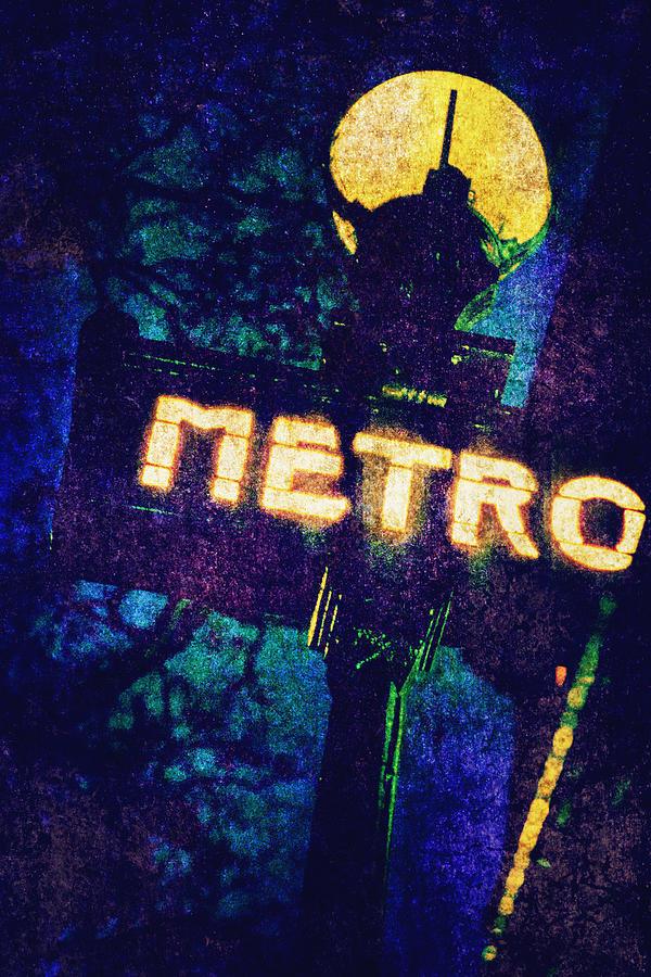 Art Photograph - Metro by Skip Nall