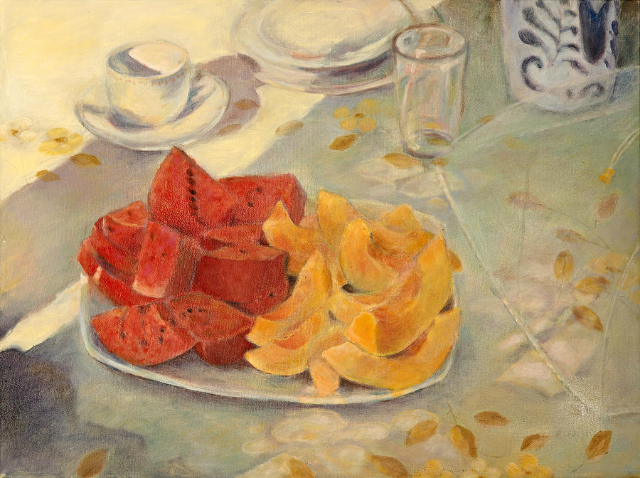 Fruit Painting - Mexican Breakfast by Rita Bentley