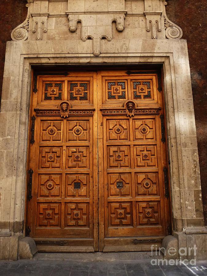 Mesoamerica Photograph - Mexican Door 10 by Xueling Zou