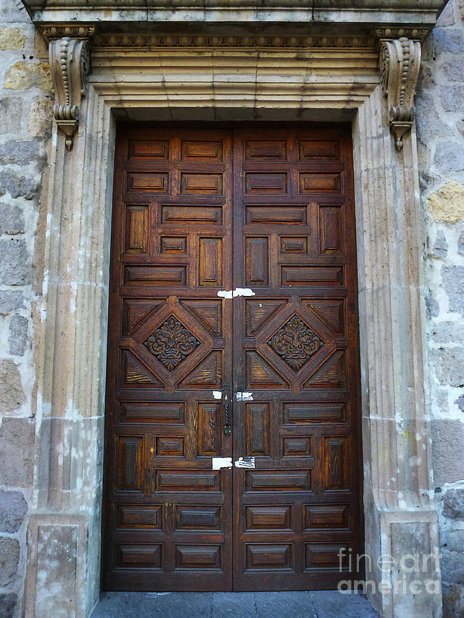 North America Photograph - Mexican Door 32 by Xueling Zou