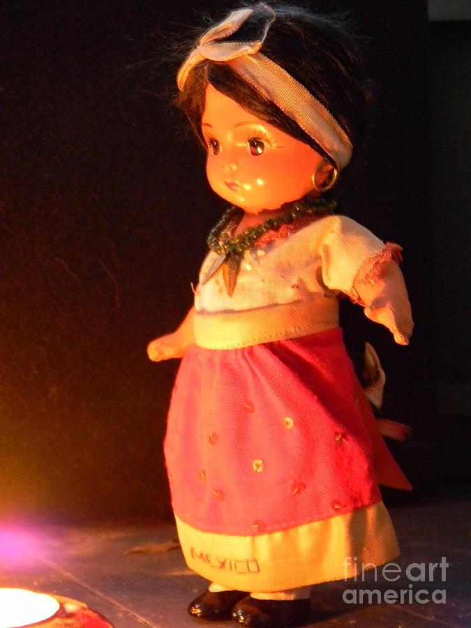 Doll Photograph - Mexico by Anita V Bauer