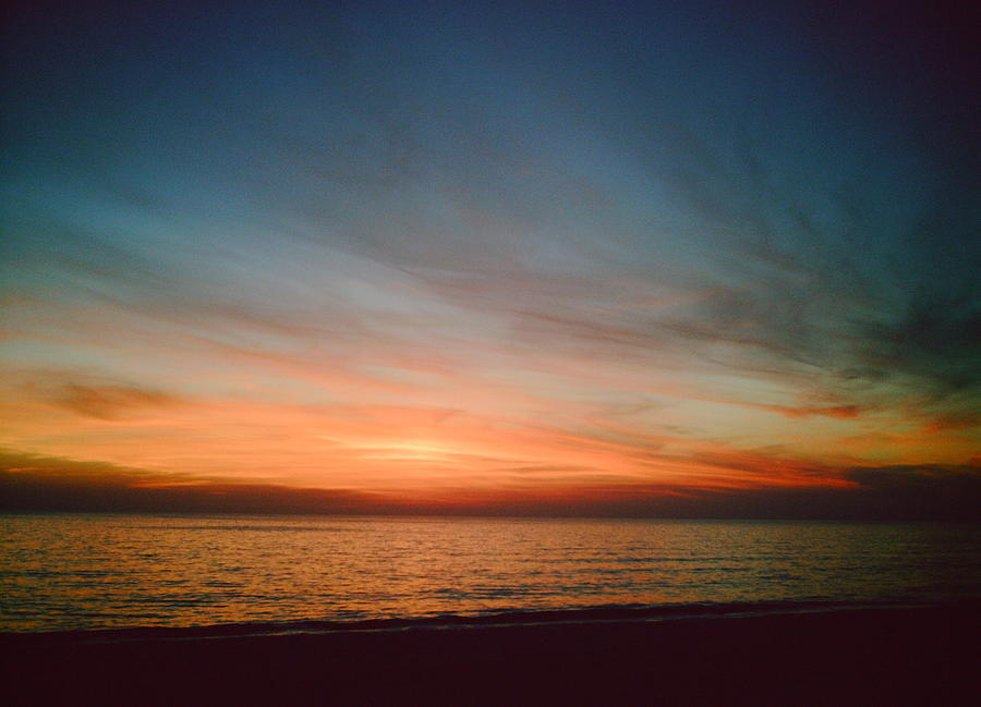 Landscape Photograph - Mexico Sunset by Shawn Doherty
