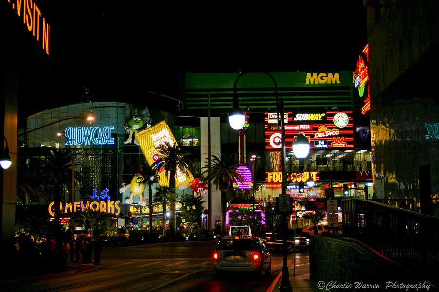 Las Vegas Photograph - MGM by Charles Warren