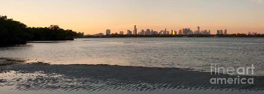 Key Biscayne Photograph - Miami At Low Tide by Matt Tilghman