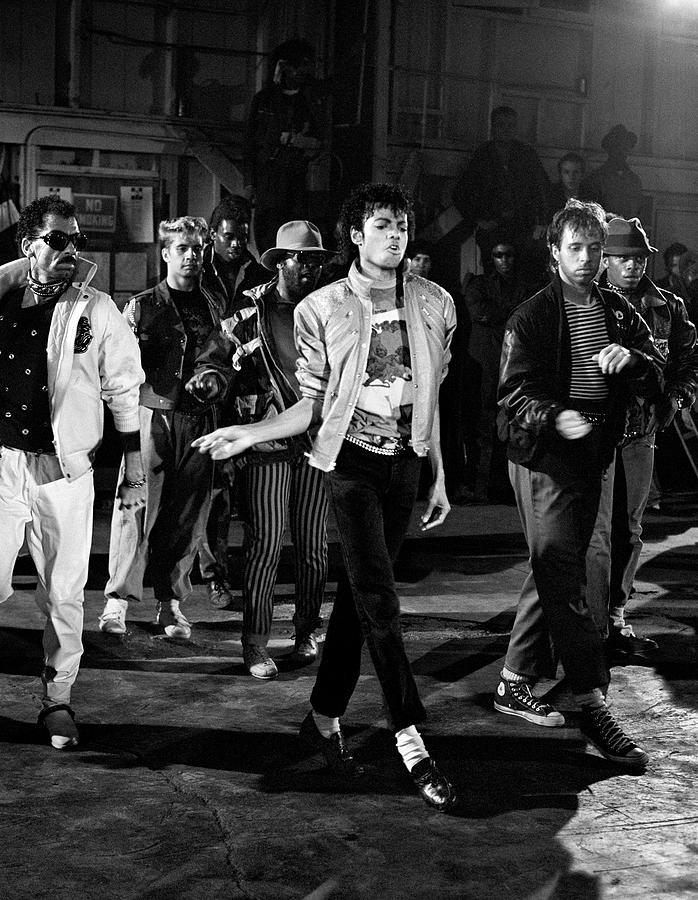 Michael Jackson Beat It Photograph By Chris Walter
