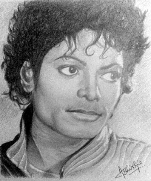 Michael Jackson Drawing by Ashish Ojha