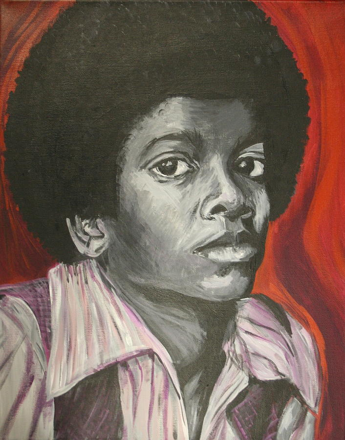 Michael Jackson Painting - Michael Jackson by Kate Fortin