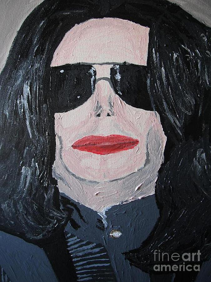 King Of Pop Painting - Michael Jackson King Of Pop by Jeannie Atwater Jordan Allen