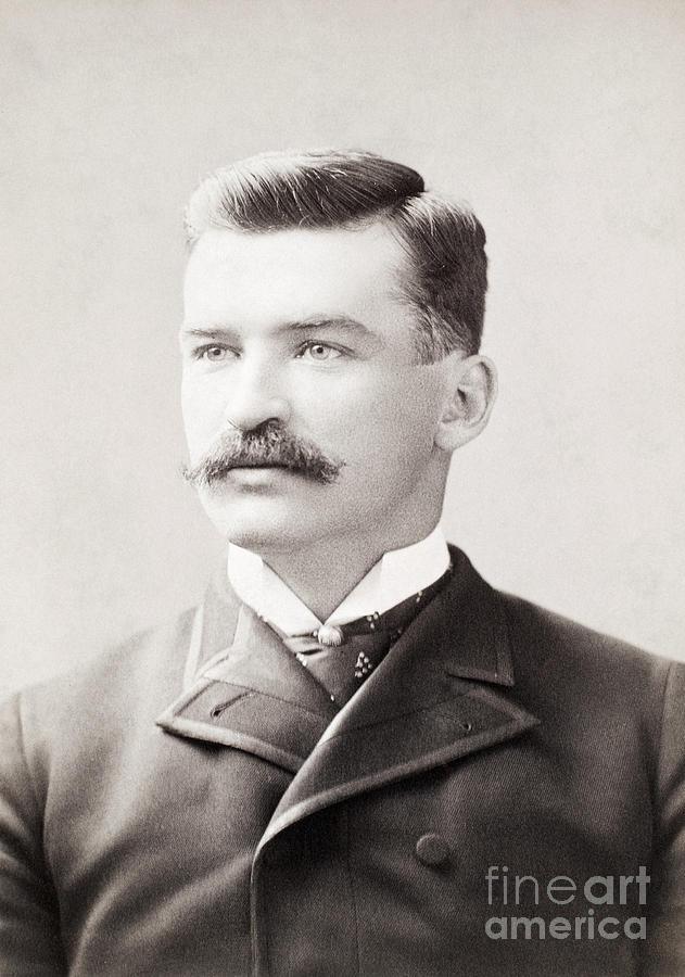 1887 Photograph - Michael Joseph Kelly by Granger
