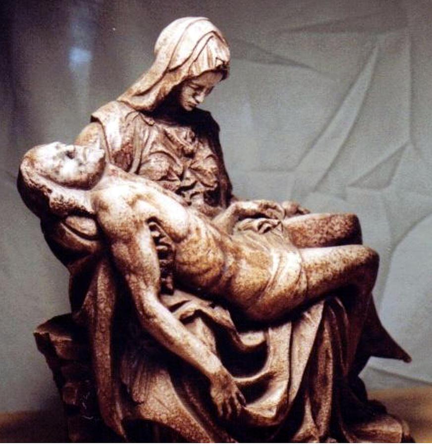 Michelangelos Pieta Sculpture by Patrick RANKIN