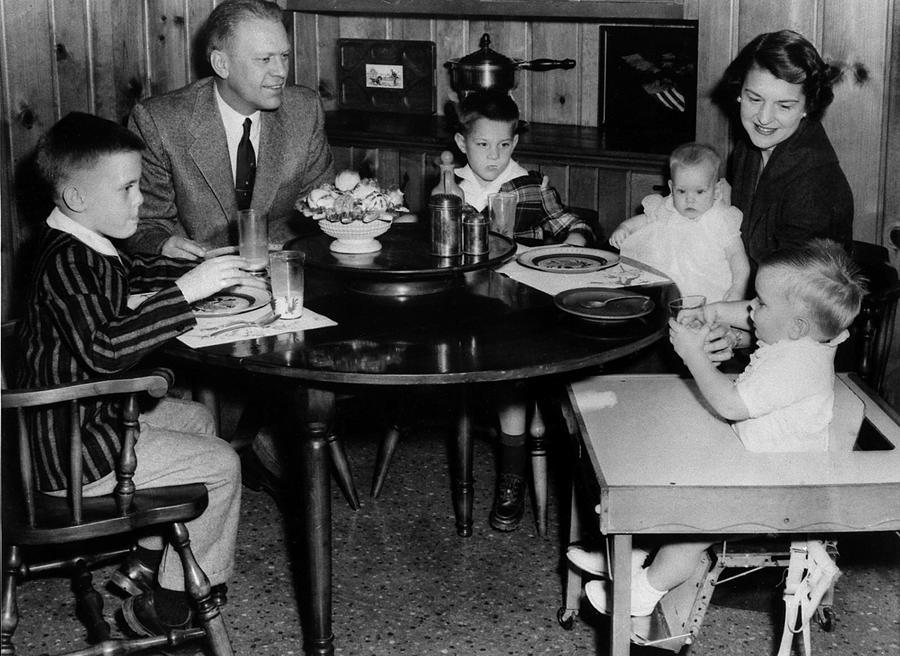 History Photograph - Michigan Representative Gerald  Ford by Everett
