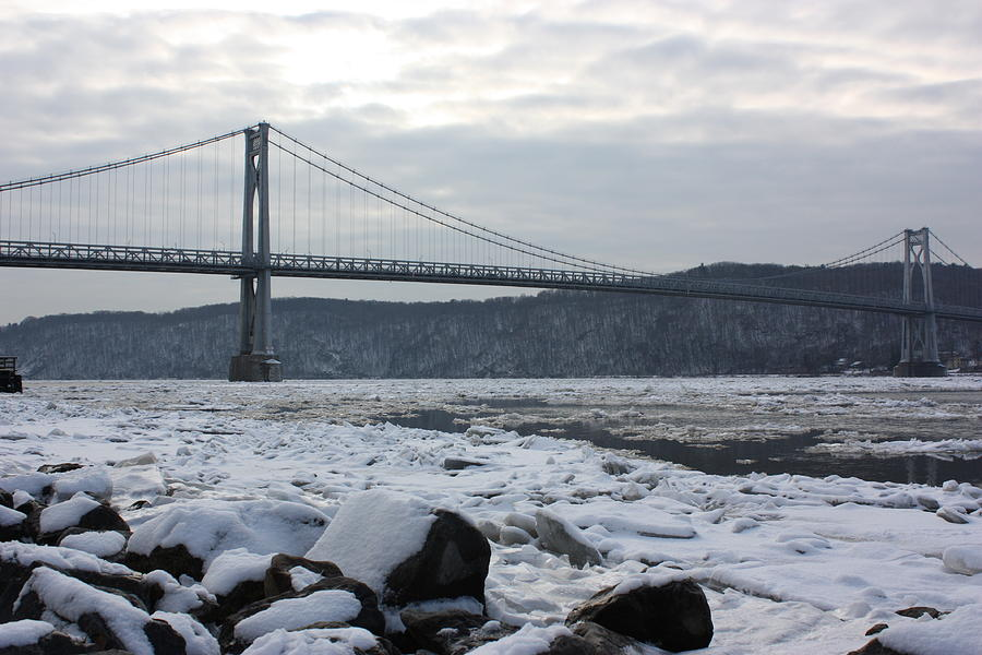 Winter Photograph - Mid-hudson In Winter by Robert Rizzolo