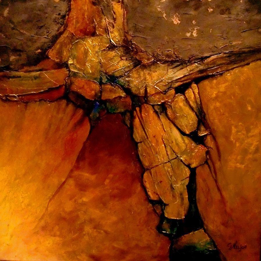 Midas Touch Painting By Carol Nelson