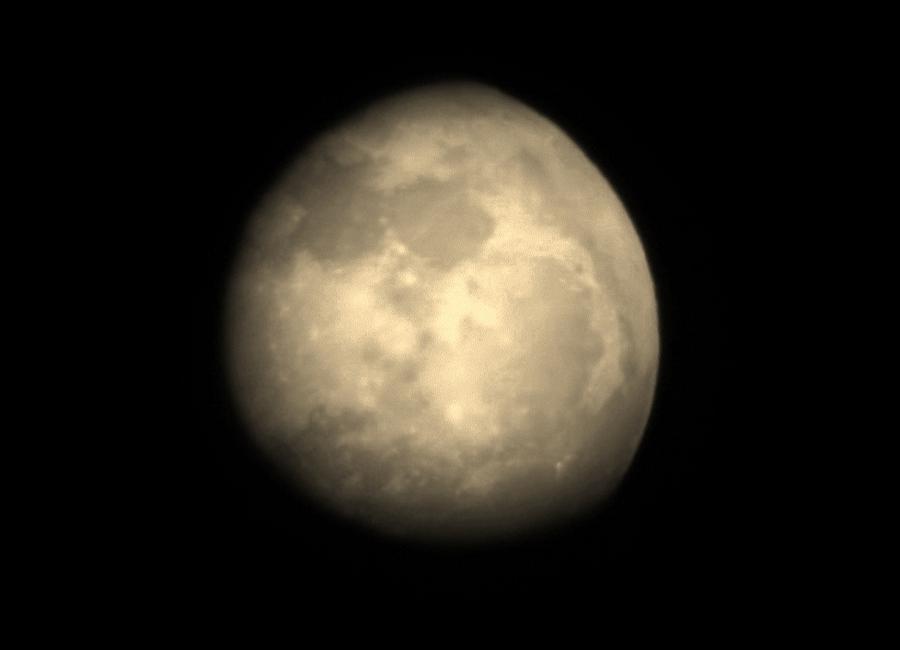 Moon Photograph - Midnight Moon by Aliesha Fisher