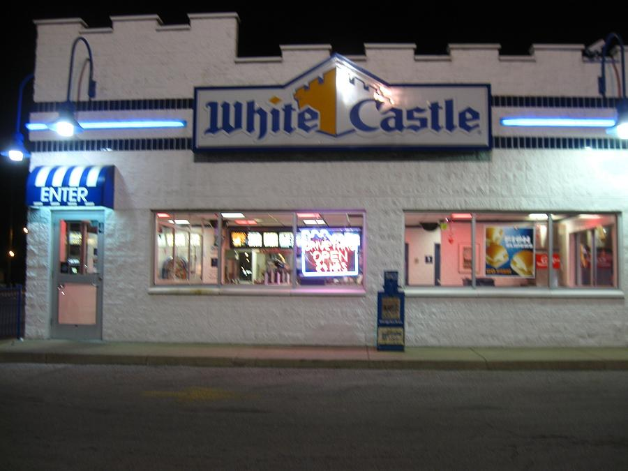 White Castle Photograph - Midnight Snack by Todd Sherlock