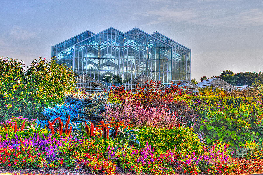 Land Mark Photograph - Miejer Gardens Revisited by Robert Pearson