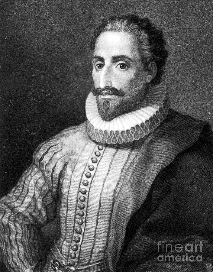 Miguel De Cervantes Saavedra Photograph By Granger