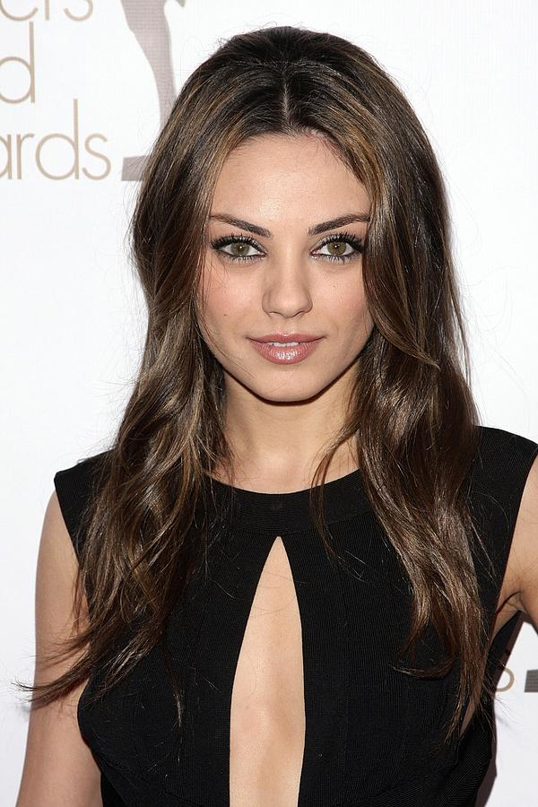 Mila Kunis Photograph - Mila Kunis At Arrivals For 2010 Writers by Everett