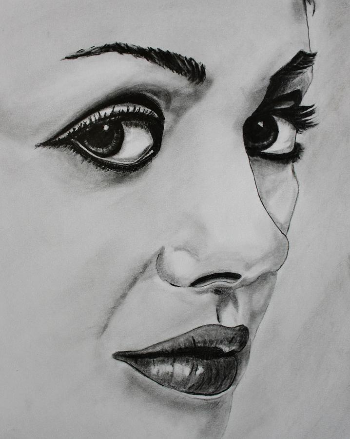 Mila Drawing - Mila by Michael Cross