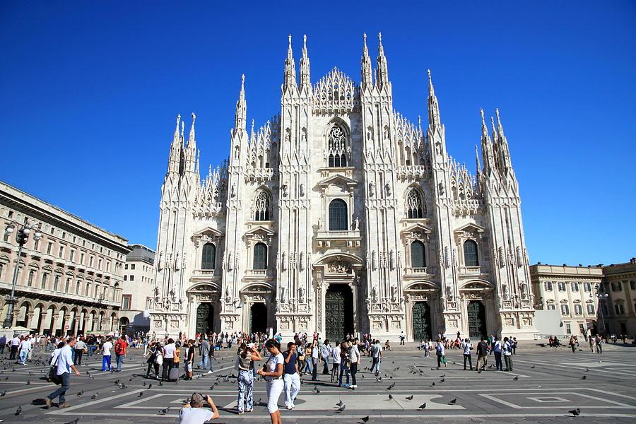 Milan Photograph - Milan Duomo Cathedral by Valentino Visentini