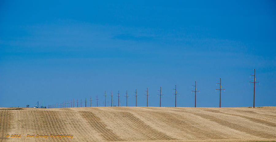 Landscape Photograph - Miles And Miles by Dan Crosby
